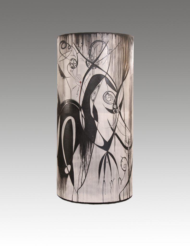 """John Toki - Synchronicity - 2011 - Ceramic - 88"""""""